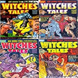 download ebook witches tales. issues 13, 14, 15 and 16. weird yarns of unseen terror. the torture jar, transformation, revenge of a witch and more. we dare you to read these eerie tales of supernatural horror. pdf epub