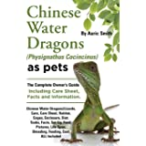 Chinese Water Dragons Care, Habitat, Cages, Enclosure, Diet, Tanks, Facts, Set-Up, Food, Pictures, Shedding, Life Span, Breed