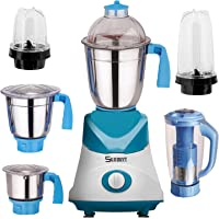 Sunmeet Blue Color 1000Watts Mixer Grinder with 2 Bullet Jar plus 4 2019 But-Bl