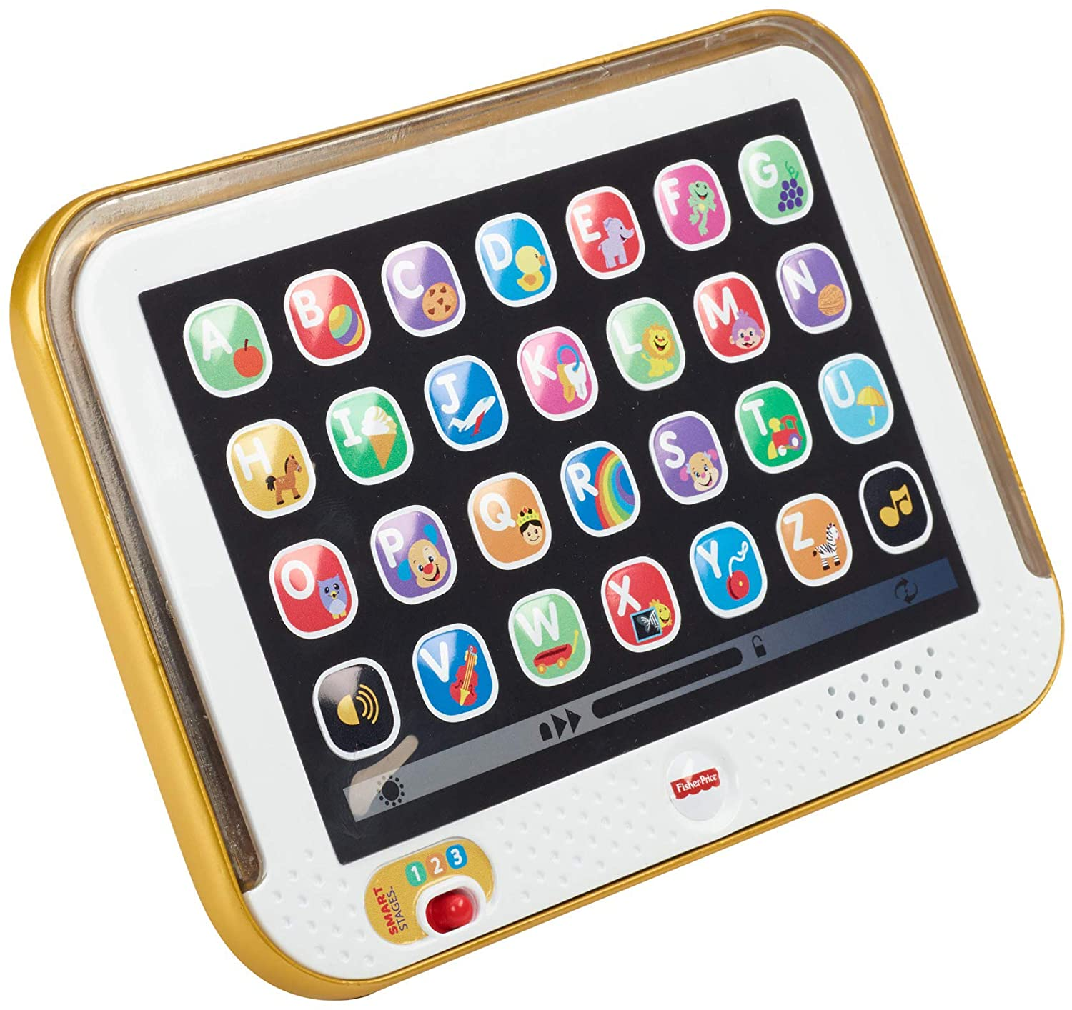 Fisher Price Laugh Learn Smart Stages Tablet Gold