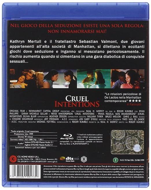 Cruel Intentions - Prima Regola: Non Innamorarsi Blu-Ray ...
