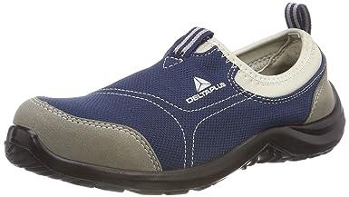 Delta plus calzado - Zapato poliester algodón suela poliuretano talla 37 gris azul: Amazon.es: Industria, empresas y ciencia