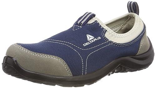 Delta plus calzado - Zapato poliester algodón suela poliuretano talla 36 gris azul