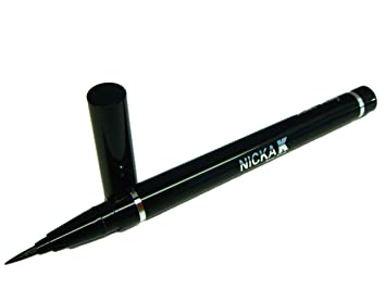 liquid eyeliner brush. liquid eyeliner brush pen by nicka k u