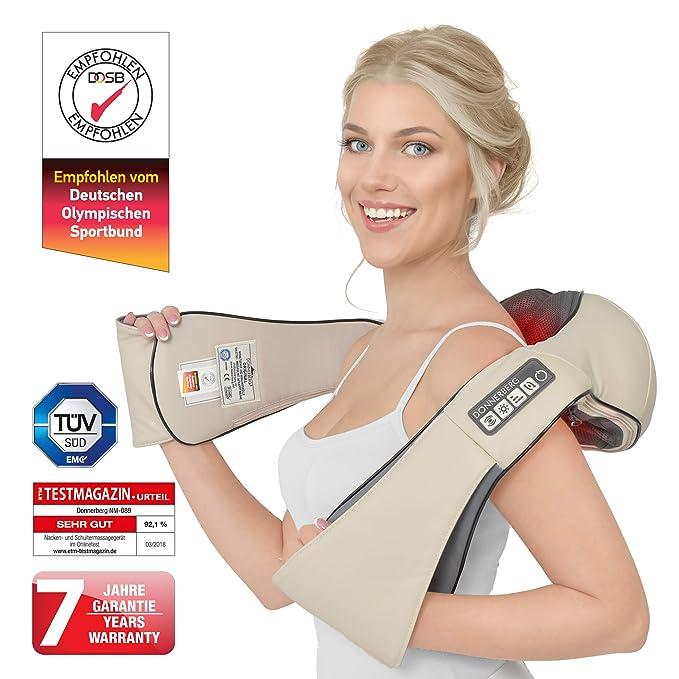 150 opinioni per Donnerberg® Original Massaggiatore collo e spalle- Massaggiatore elettrico-