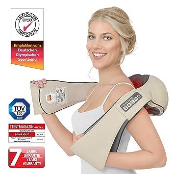 eaeaefd1dcb Massage cervical chauffant - Donnerberg® Original Premium - Appareil de  massage shiatsu - Haute qualité allemande - Soulage les ...