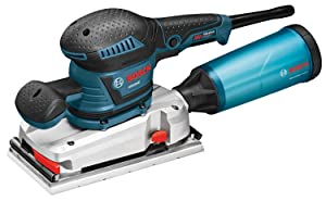 Bosch OS50VC Electric Orbital Sander- 3.4 Amp 1/2 in. Finishing Belt Sander Kit with Vibration Control for 4.5 in. x 9 in. Sheets