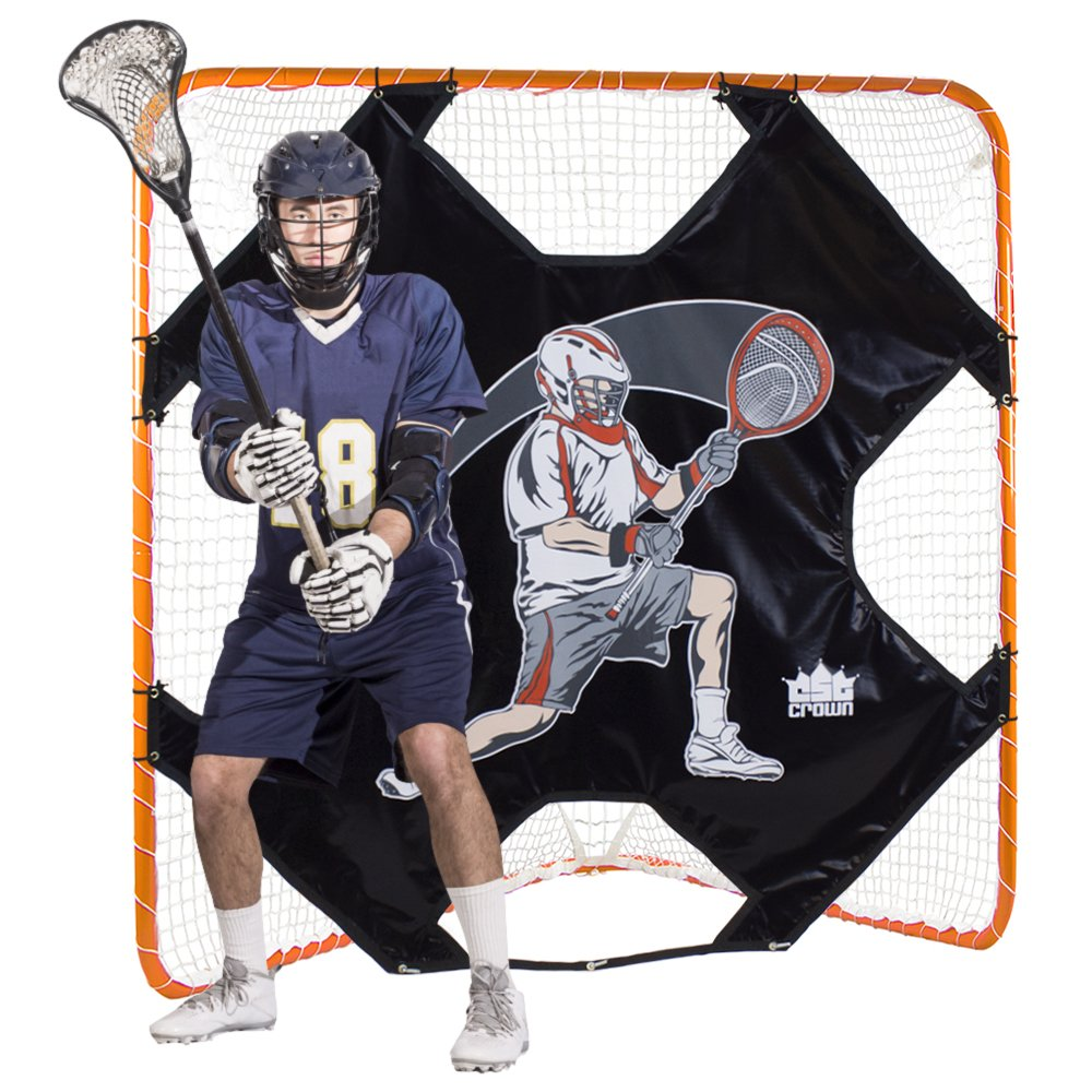 Lacrosse Goal Practice Target (Goal Not Included) - Fits Any Standard Size Lacrosee Goal! by Crown (Image #3)