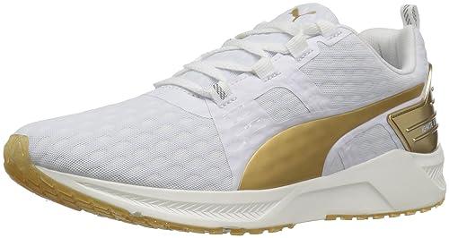Zapato Cross-Trainer Ignite Xt v2 Gold Wns para mujer, Puma Black / Gold, 8 M US