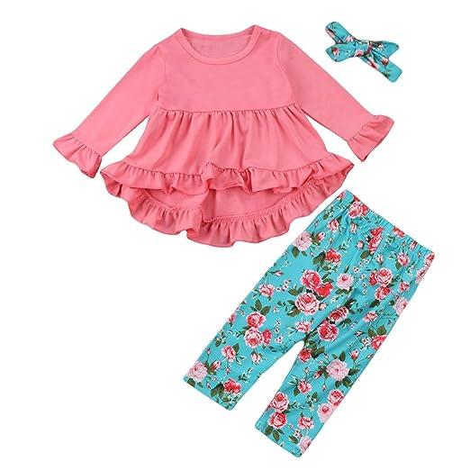 bd9e4e705 Toddler Baby Girl Clothing Love Print Ruffles Dress Tops+Long Pant Leggings  Scarf 3PCS Outfit