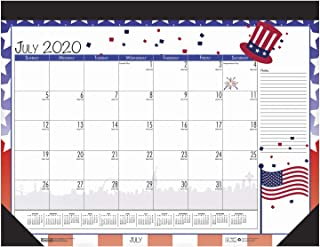 product image for House of Doolittle 2020-2021 Monthly Seasonal Desk Pad Calendar, Academic, 22 x 17 Inches, July - June (HOD1395-21)