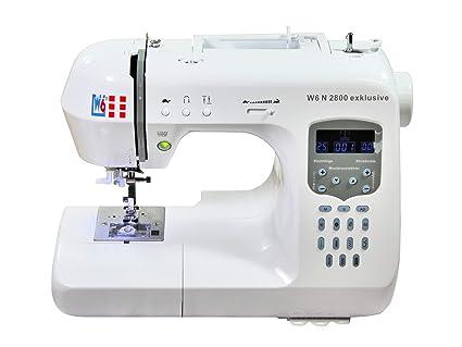 W6 N 2800 exclusiva de ordenador Máquina de coser – Costura, interconectar, para almazuela