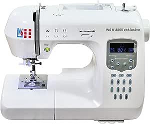 W6 N 2800 exclusiva de ordenador Máquina de coser – Costura ...