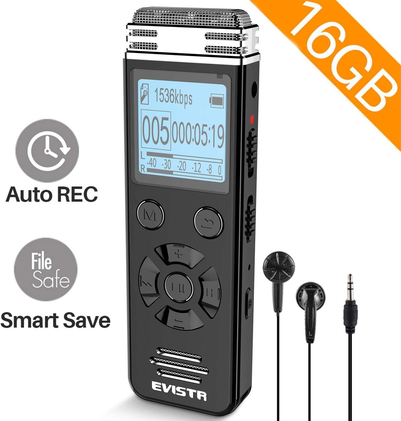 Evistr V508 16Gb Digital Voice Recorder