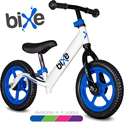 "4f4e944500e Blue (4LBS) Aluminum Balance Bike for Kids and Toddlers - 12"" No Pedal"
