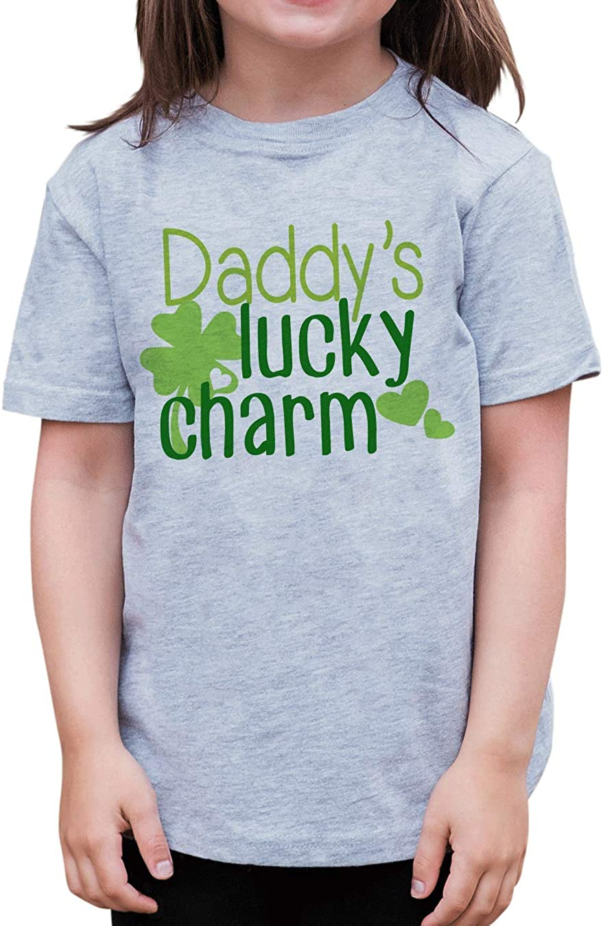 Patricks Day T-Shirt 7 ate 9 Apparel Kids Daddys Lucky Charm St
