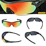 TOREGE Polarized Sports Sunglasses with 5