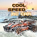 Toys Bhoomi 20 Km/H 2.4G 1:18 4Wd High Speed Off-Road Rc Racing Drift Car Electric Buggy With Pistol Grip Remote Control - Orange