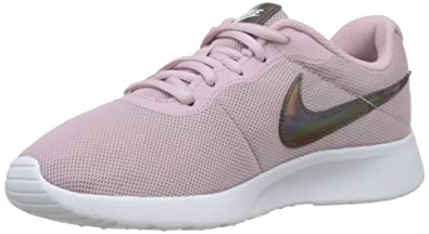 Amazon.com | Nike Women's Tanjun Shoe Plum Chalk/White Size 8.5 M US ...