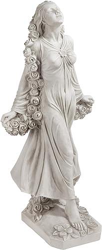 Design Toscano KY47018 Flora Divine Patroness of Gardens Roman Goddess Statue