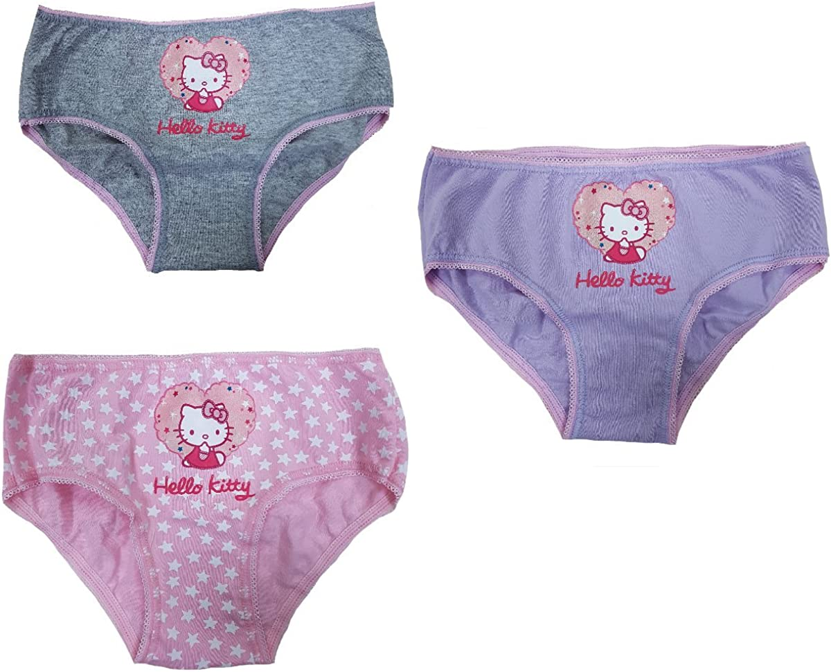 Set 3 Briefs Lunapark Girl Hello Kitty Multicolor Clothing Girl PS ...