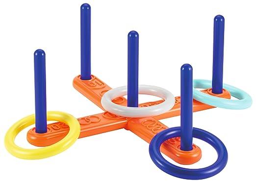3 opinioni per Smoby 8/ 00136- Croce con anellini da lanciare, con 4 anelli, 40 cm