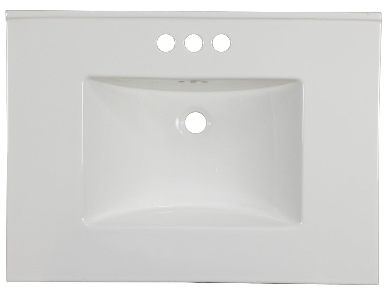 American Imaginations AI-888-18532 Ceramic Top White