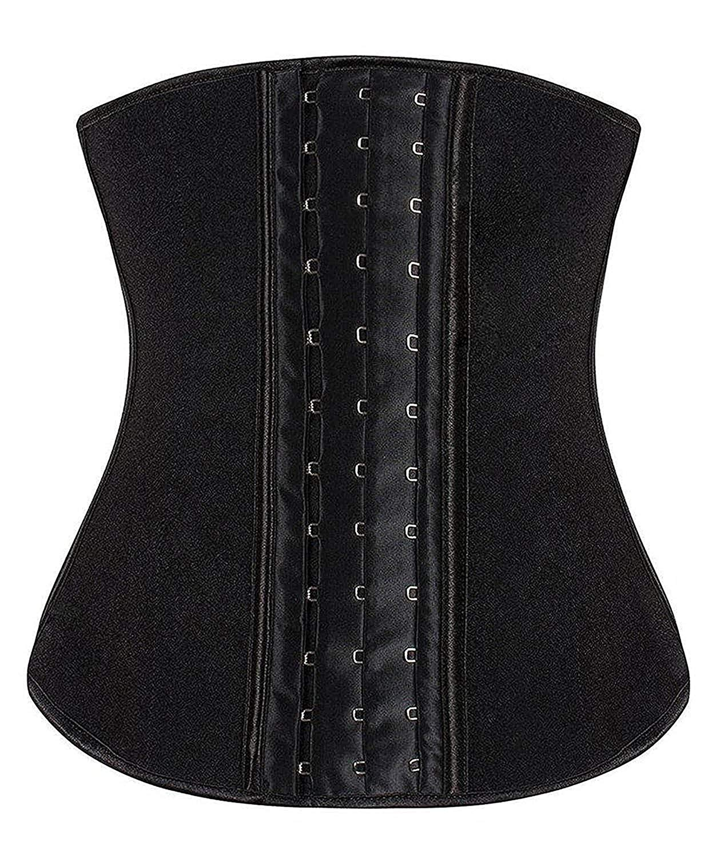 2728565d9f9 YIANNA Women s Underbust Latex Sport Girdle Waist Trainer Corsets Hourglass  Body Shaper   Waist Cinchers   Clothing