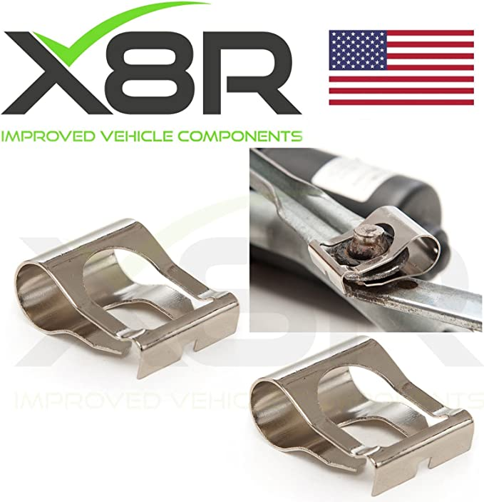 KKmoon Pair of Windscreen Wiper Motor Linkage Rods Arms Cutting Kit Repair Mechanism