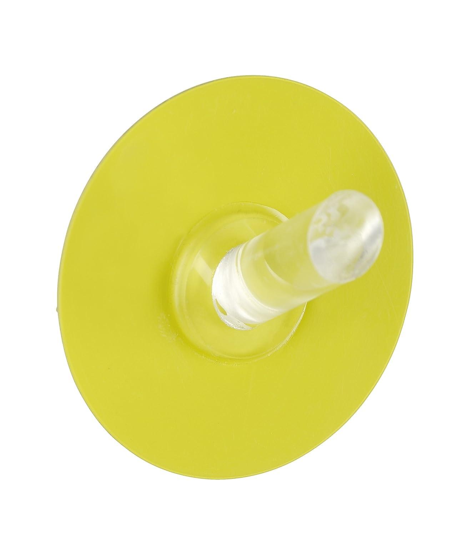 Wenko Static-Loc Hook, Yellow, Medium 21798100