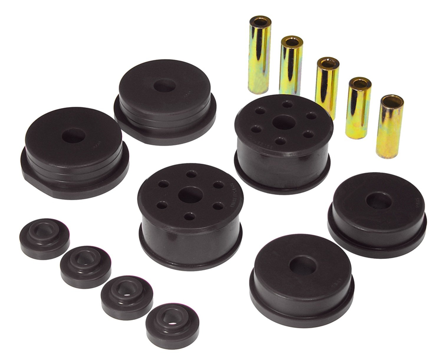 Prothane 13-1903-BL Black Motor and Transmission Mount Insert Kit by Prothane