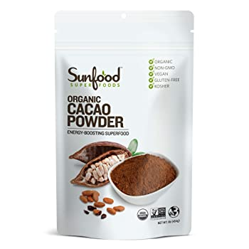 Sunfood Superfoods Raw Organic Cacao Powder