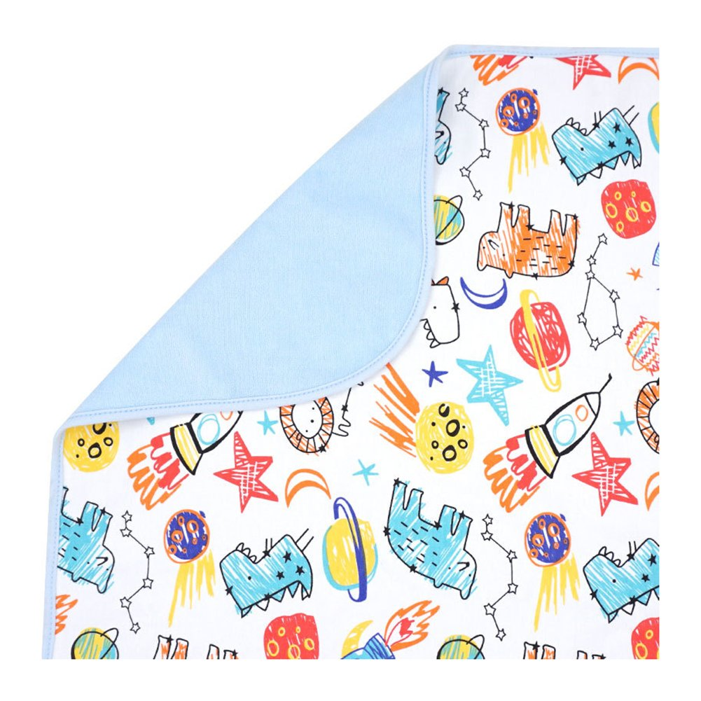 Kissababy Baby Boys Girls Changing Pad Portable Changing Mat to Change Diaper Waterproof Sheet for Any Places for Home Travel Bed Play Stroller Crib Car (27.56x19.68) HK155