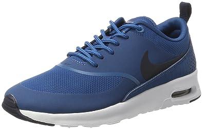 Nike Damen Air Max Thea Sneakers Blau (Industrial Blue/Obsidian-White) 40.5 EU