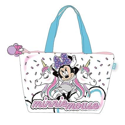 Disney Bolsa Playa 48x32cm de Unicornio Bolsa de Tela Y de ...