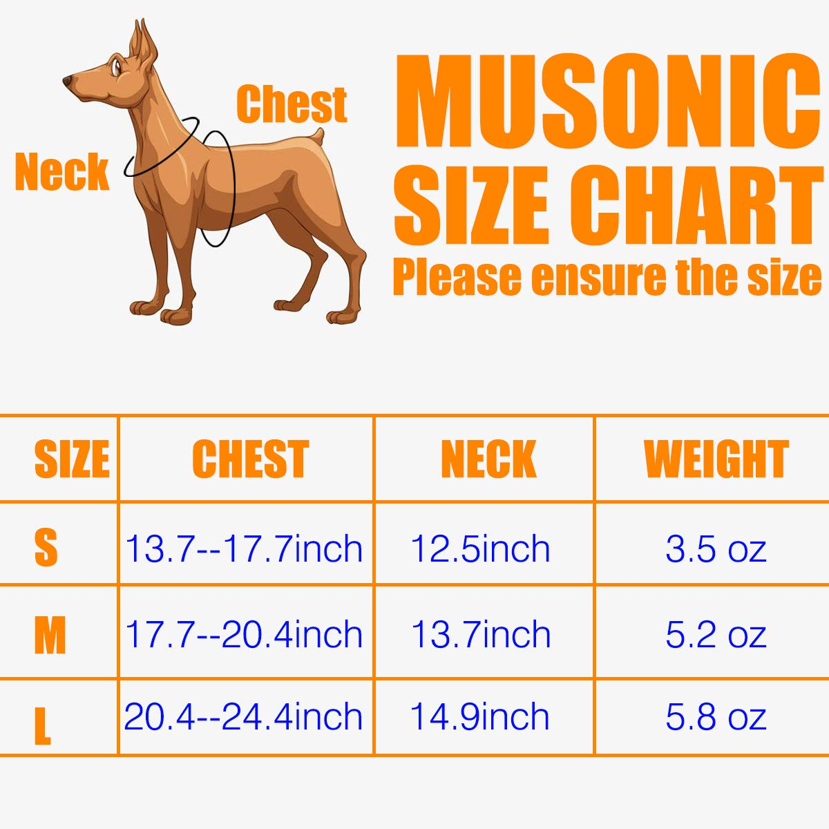 Musonic No Pull Dog Harness for Small Dogs Adjustable Reflective Lightweight Vest Harness Easy Fit and Escape Resistant for Outdoor Training and Walking, Leash Included (M, Blue)