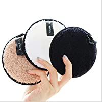 Makeup Remover Pads Reusable,Washable Face Cleaning Cloths,Facial Make Up Removal Wipes,Soft Cotton Rounds Towelettes…