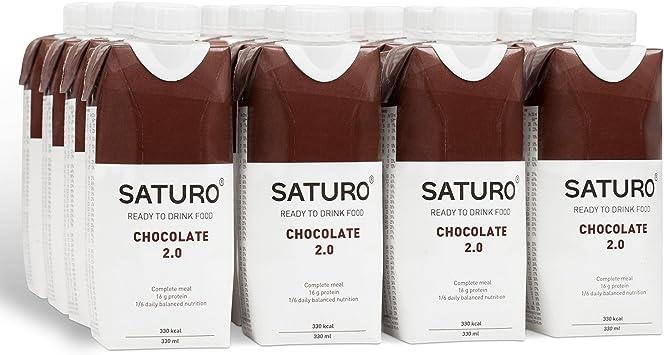 Saturo Chocolate Bebida Sustituto Alimenticio | Comida ...