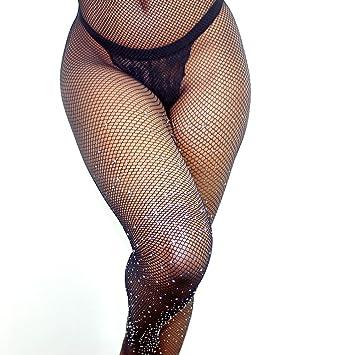 Greencolourful Sexy Sequins Mesh Chaussettes longues Leggings Thigh-Highs  Fishnet Midings Collants (noir)  Amazon.fr  Beauté et Parfum d05b029ee72