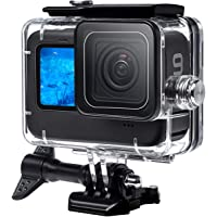F1TP Waterproof Case for GoPro Hero 9 Black(2020), 164FT/50M Water Proof Diving Underwater Protection Case for GoPro…