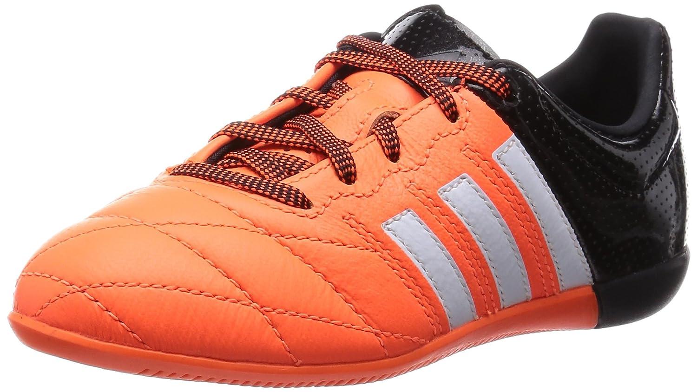 Adidas ACE 15.3 IN J Leder SOLROT BLACK - 4