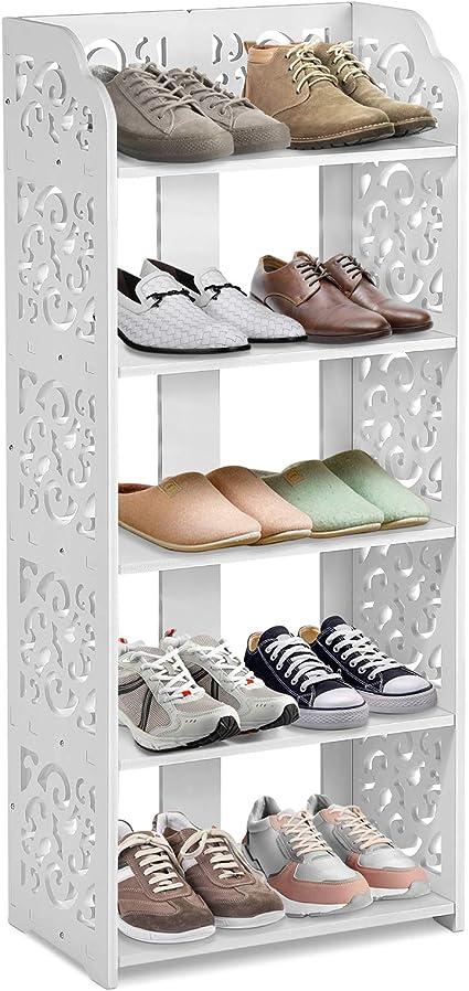 Estantería de almacenamiento para zapatos con 5 estantes ...