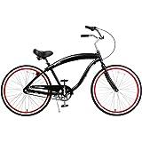 Fito Men's Modena EX Aluminum Alloy 3-Speed 26-Inch Wheel Beach Cruiser Bicycle
