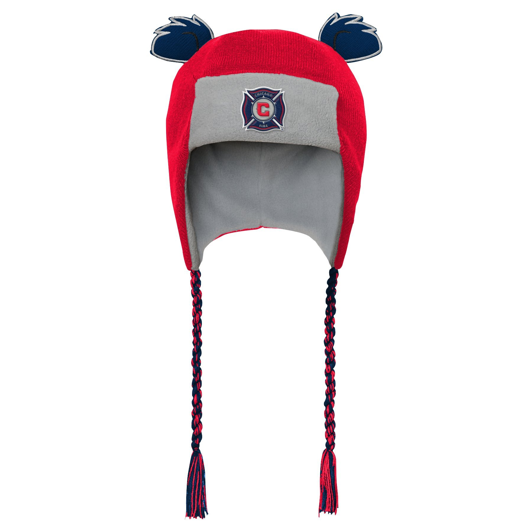 Outerstuff MLS Chicago Fire R S47DL Boys Ears Trooped Hat, One Size, Red
