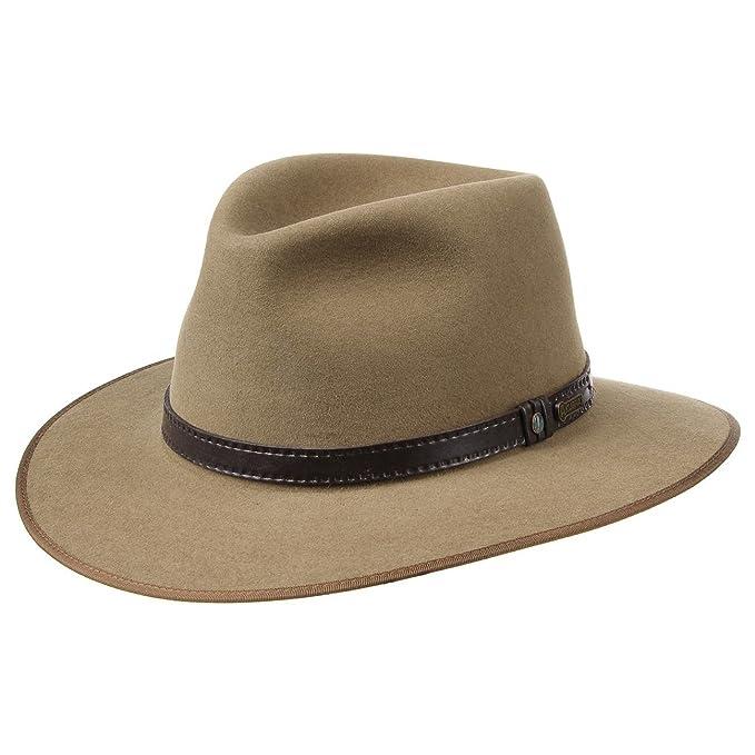 10bfa70f28ff4 Sombrero The Outback Opal by AKUBRA sombrero de fieltrotraveller sombrero  de fieltro  Amazon.es  Ropa y accesorios