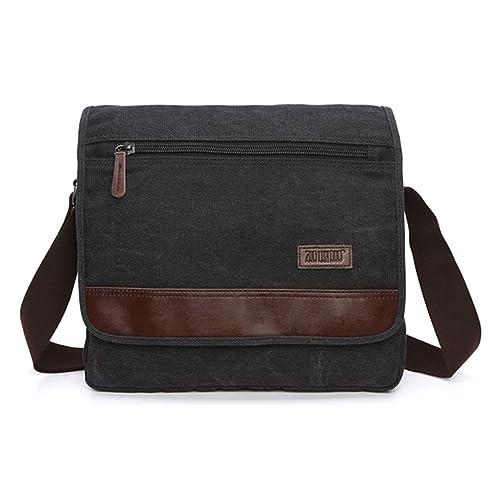 Outreo Vintage Messenger Bag Hombre Bolso Bandolera Bolsos ...