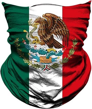 Mexico Mexican Flag Bandanna Headband Wrap Handkerchief Head Scarf México