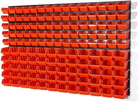 Unidades 75 XS y 60 S tamaño en caja almacenaje y pared ranurada: Amazon.es: Bricolaje y herramientas