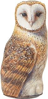 product image for Barn Owl Doorstop, Decorative Animal Doorstopper, Amy Brackenbury Artwork