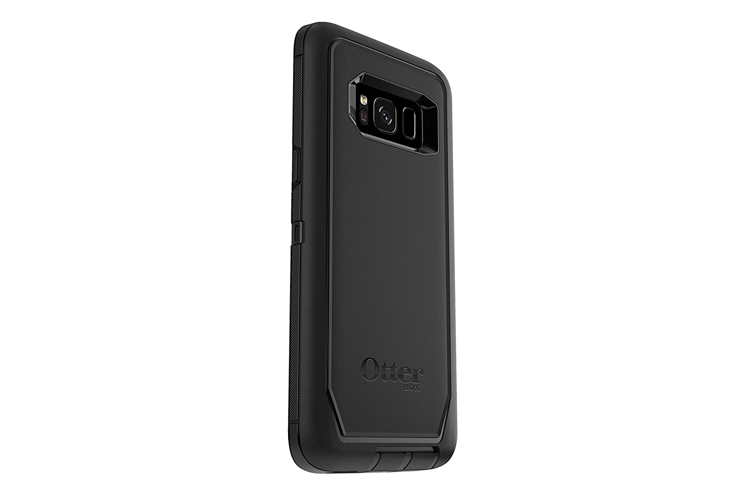 dbdd1b9f88f Amazon.com  OtterBox DEFENDER SERIES SCREENLESS EDITION for Samsung Galaxy  S8 - Retail Packaging - BLACK  Cell Phones   Accessories